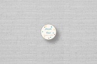 personalized circle stickers