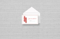 double happiness wedding placecards