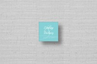modern personalized gift tags