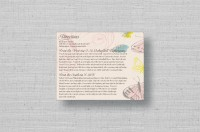 butterfly wedding directions cards