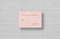 butterfly wedding reply cards