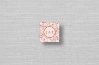 personalized monogram favors tags