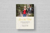 Fall Branches Wedding Save the Date Cards